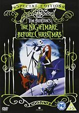 The Nightmare Before Christmas (Special Edition) [1994] [DVD], , Used; Good DVD