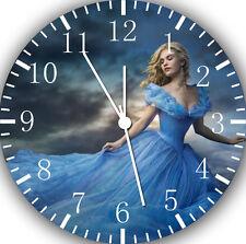 "Disney Cinderella wall Clock 10"" will be nice Gift and Room wall Decor E24"