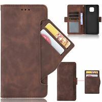 For Motorola Moto G Power 2021 Flip Leather Magnetic Card Slot Wallet Case Cover