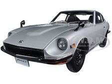 1969 NISSAN FAIRLADY Z432 (PS30) SILVER 1/18 DIECAST MODEL CAR BY AUTOART 77437