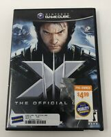 X-Men The Official Game (Nintendo GameCube, 2006) Complete Tested Working