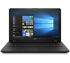"HP 15-bs507na 15.6"" Laptop Intel Pentium 4GB RAM 1TB HDD Windows 10 - Black A"