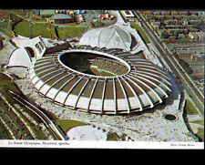 MONTREAL (CANADA) STADE OLYMPIQUE , vue aérienne en 1976