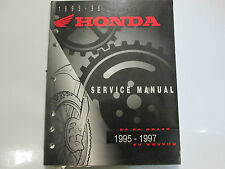 1995 1996 1997 Honda CR80R CR80RB Service Repair Shop Manual FACTORY OEM BOOK