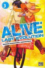 ALIVE LAST EVOLUTION tome 3 Kawashima Adachitoka MANGA seinen
