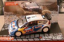 CITROEN C4 WRC #8 RALLYE TURQUIE 2010 RAIKKONEN LINDSTROM RED BULL IXO 1/43