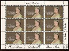 ST HELENA 1980 80th BIRTHDAY QUEEN MOTHER Sheetlet MNH