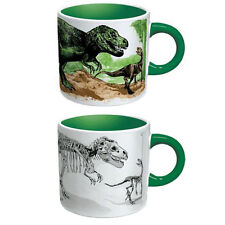 Disappearing Dinosaurs Heat Changing Mug Cup T-Rex Brontosaurus Dino Coffee Tea