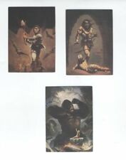 KEN KELLY art SIGNED TRADING CARDS MIGHY KING & HAUNTED ROOM & HORRIFYING INTRUD