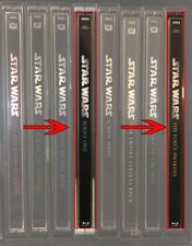 Spine Magnets For The Force Awakens /Rogue One to match Star Wars 1-6 Steelbooks