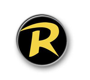"ROBIN 1"" / 25mm / pin button / badge / movie / DC Comics / Batman / Dark Knight"