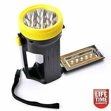 12 LED Lantern Torch Flashlight Tent Lamp With 3aa Batteries Blue Spot