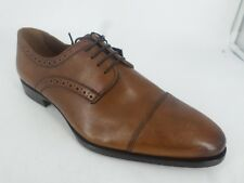 Zara Mens Brown lace Up Leather Shoes UK 7 EU 41 LN088 LL 06