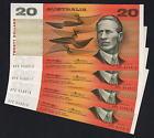 R-406a. (1976) 20 Dollars.. Knight/Wheeler - Centre Thread. CONSEC run 4 aU-UNC