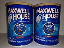 2 Maxwell House The Original Roast Medium Ground Coffee 11.5 OZ NEW