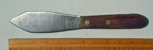 Homemade Nessmuk Style Knife from Dexter Carbon Steel Long Baker Spatula 24912F