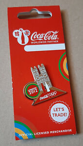 pin's Jeux Olympiques / Londres 2012 - partenariat Coca cola abbaye Westminster