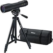New Nikon ProStaff 3 16-48x60 Spotting Fieldscope Outfit Straight Body 6983