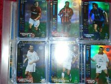wizards football champions 2003/4 serie A foil card totti roma 091/100