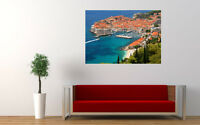 "CROATIA DUBROVNIK NEW GIANT LARGE ART PRINT POSTER PICTURE WALL 33.1""x23.4"""