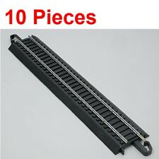 "NEW Bachmann 9"" Straight E-Z Train Track (10 Pieces) HO Scale BAC44481 x10"