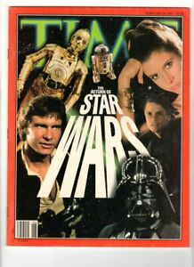 WoW! Time February 10, 1997 / Star Wars Main Characters Cover! 20th Anniversary