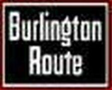 Burlington F9 Diesel Nose Self Adhesive Sticker for American Flyer Trains