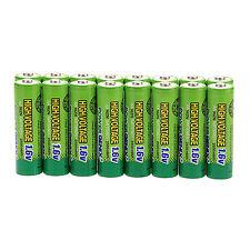 Hot 16 pcs 2500mWh 1.6V Volt AA 2A NiZn Rechargeable Battery PowerGenix