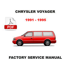 chrysler voyager workshop manual ebay rh ebay ie 1997 Plymouth Voyager Problems 1993 Plymouth Voyager Air Diagram