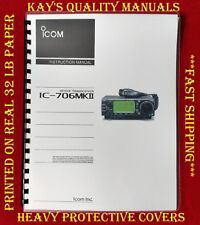 Highest Quality ~  ICOM IC-706MKII Operating Manual  ****C-MY OTHER MANUALS****