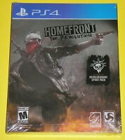 Homefront: The Revolution (Sony PlayStation 4, 2016, Steelbook) NEW