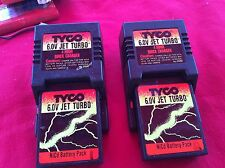 Tyco 6.0 V Jet Turbo Nicd 4 Hour Quick Charger & Nicd Battery Pack Model 2990