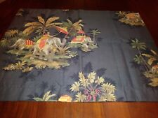 Colorful Elephants of India Standard Size One Pillow Sham New without Tags