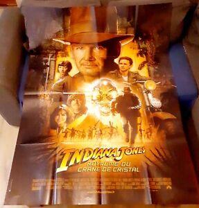 Indiana Jones et le royaume du crâne de Cristal - FORD - Affiche Cinéma