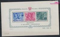 Polen Block11 postfrisch 1948 USA (7976754