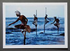 Steve McCurry Ltd. Ed. Photo Print 24x17cm Fischer Sri Lanka 1995 Fishermen Art
