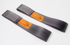 2 x Rundschlinge 750 Kg Polyester 0,75 t schwarz Hebeband Hebegurte Hebebänder