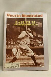 Sports Illustrated Magazine March 18, 1974- Babe Ruth The Legend Comes To Life