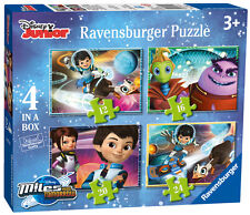 DISNEY MILES FROM TOMORROW 4 IN A BOX 12/16/20/24 PIECE RAVENSBURGER JIGSAW