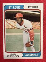 ⚾️1974 Topps Bob Gibson #350 HOF St. Louis Cardinals ⚾️
