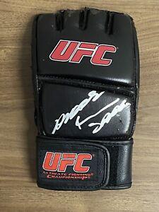 ANDERSON SPIDER SILVA signed UFC MMA Glove Auto Autograph PSA/DNA