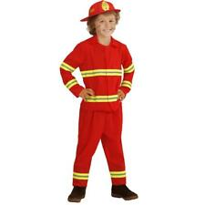 Kids Carnival Costume Firefighter Costume Fireman Ps 26492