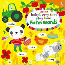 Baby's Very First Play Book Farm Words (Baby's Very First Books),Fiona Watt,St