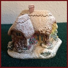 Lilliput Lane Winter's Wonder Retired 1997 with Box and Deed