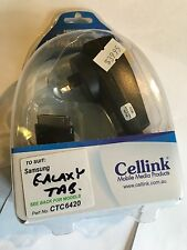 Samsung Galaxy Tab P1000, P7100 AC Mains Charger. Brand New & Sealed in package.