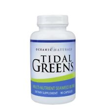 Tidal Greens Natural Seaweed Supplement: THYROID SUPPORT 90 Capsules