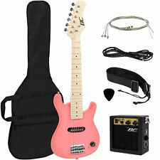 """Best Choice Products Kids' 30"""" Electric Guitar - Pink"""