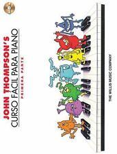 JOHN THOMPSON'S CURSO FACIL PARA PIANO - THOMPSON, JOHN - NEW PAPERBACK BOOK