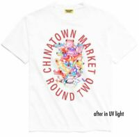 Chinatown Market Round Two Frog UV White T-Shirt Size S M L XL NEW WITH TAGS