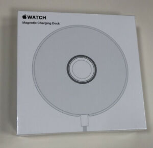 Apple Watch Magnetic Charging Dock - MU9F2AM/A Model A2086 - New in sealed box!